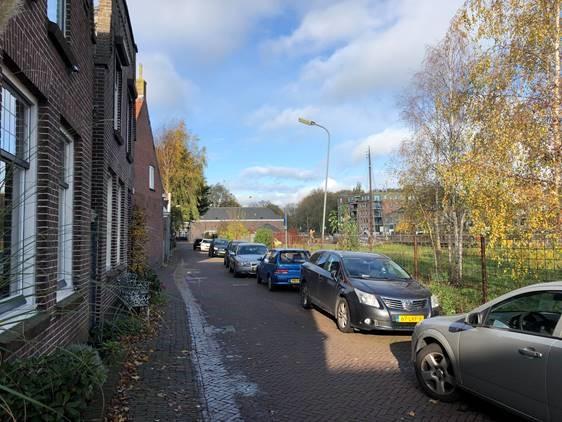de hoogstraat in Enkhuizen